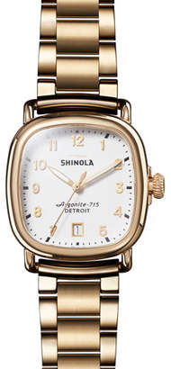 Shinola 36mm The Guardian Chronograph Bracelet Watch, Two-Tone