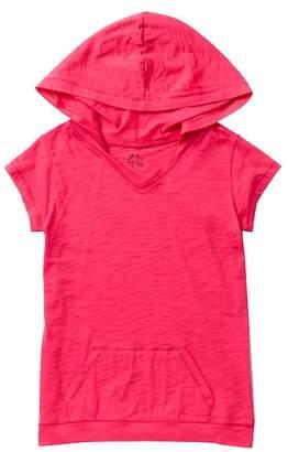 Zella Z by Hooded Short Sleeve Tee (Little Girls & Big Girls)