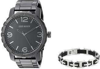 Steve Madden Analog Watch and Bracelet Set SMS590962 Watches