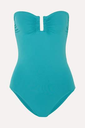 Eres Les Essentiels Cassiopée Bandeau Swimsuit - Turquoise