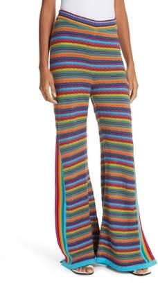 All Things Mochi Oceana Stripe Crochet Pants