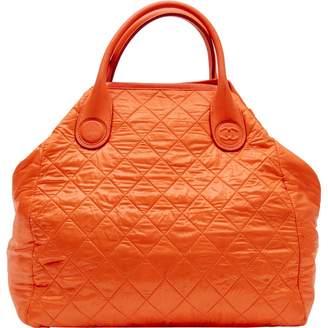3d2a923a58d7 Chanel Coco Cocoon Orange Synthetic Handbag