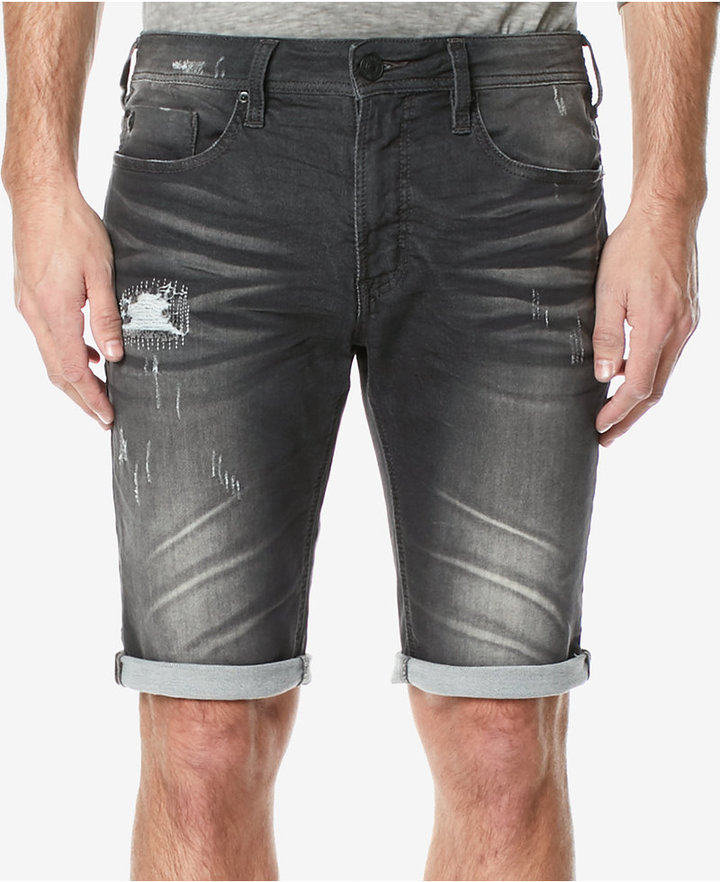 Buffalo David Bitton Buffalon David Bitton Men's Denim Parker-X Stretch Shorts
