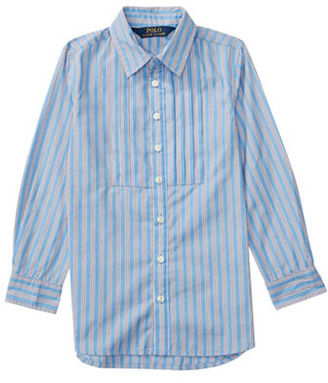 Ralph Lauren Childrenswear Girls 2-6x Long Sleeve Striped Top $45 thestylecure.com