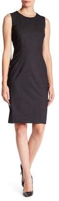 BOSS HUGO BOSS Dirusa Wool Blend Sheath Dress $495 thestylecure.com