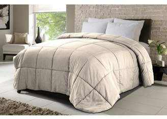 DOWN HOME Never Down MicroSoft Comforter Khaki Full/Queen