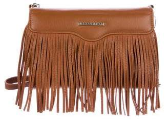 Rebecca Minkoff Fringe Leather Tech Wallet