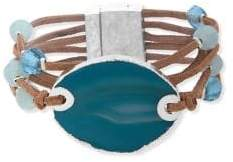 lonna & lilly Faceted Multi-Row Bracelet