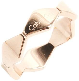 Calvin Klein Pink Steel Ring