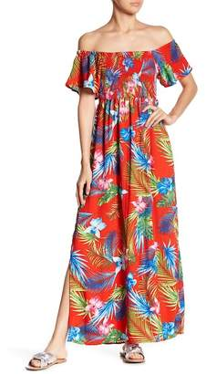 Romeo & Juliet Couture Smocked Maxi Dress