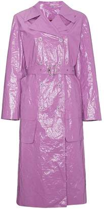 Sies Marjan Bessie Fitted Trench Coat