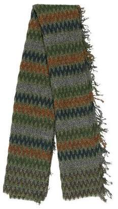 Missoni Open Knit Patterned Scarf