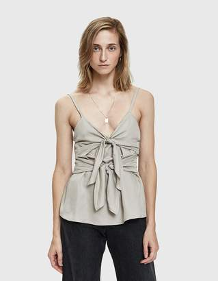 Farrow Datil Tie Front Camisole