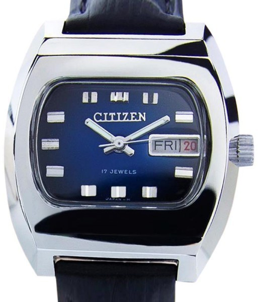 CitizenCitizen Stainless Steel Manual Wind Japanese Vintage Mens Watch
