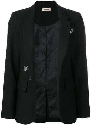 Zadig & Voltaire Zadig&Voltaire Very gem embellished blazer