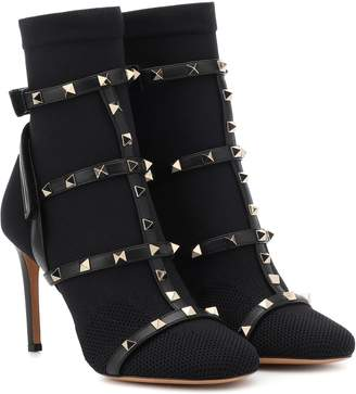 Valentino Rockstud ankle boots