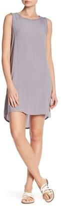 Allen Allen Hi-Lo Tank Dress