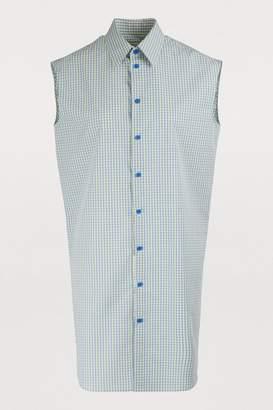 Maison Margiela Checked shirt dress