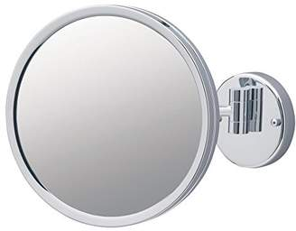 Jerdon JD12CF 9-Inch Adjustable Wall Mount Makeup Mirror with 3x Magnification