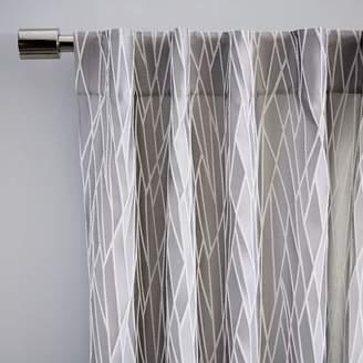 west elm Crackled Glass Curtain