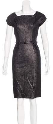 Diane von Furstenberg Iridescent Sheath Dress