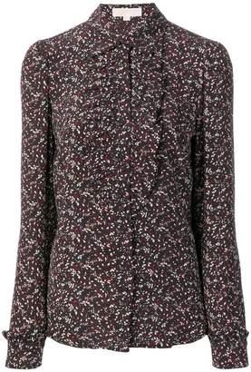 MICHAEL Michael Kors silk ruffled blouse