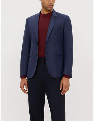Paul Smith Kensington-fit dogtooth wool blazer