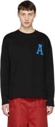 Ami Alexandre Mattiussi Black A Patch Sweatshirt