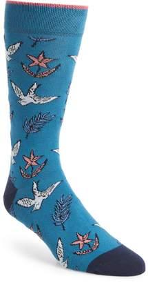 Ted Baker Leee Print Socks