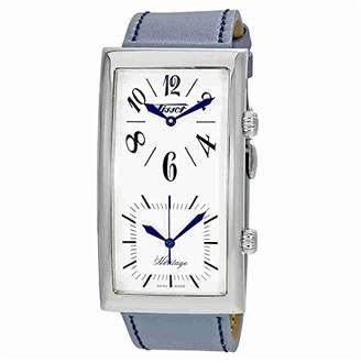Tissot Women's T56.1.623.79 Heritage Grey Blue Steel Watch