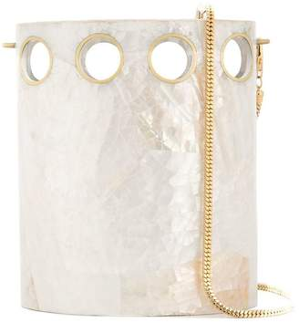 Nathalie Trad shell bucket bag