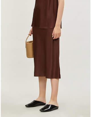 Joseph Frances silk slip skirt