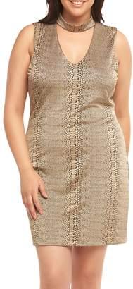 Tart Davon Choker Neck Sheath Dress
