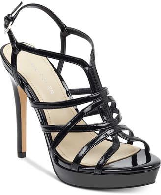 Marc Fisher Jaslyn Caged Platform Dress Sandals