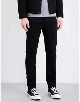 Nudie Jeans Tilted regular-fit straight-leg jeans