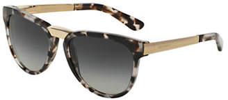 Dolce & Gabbana DNA 54mm Square Sunglasses