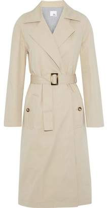 Iris & Ink Victoria Cotton-gabardine Trench Coat