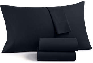 Charter Club Solid 4-Pc Queen Sheet Set, 700 Thread Count Cotton Blend, Created for Macy's Bedding