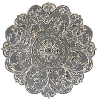 Stratton Home Decor Grey Medallion