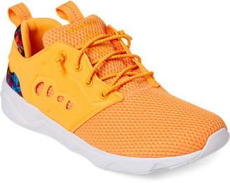 Reebok Fire Spark & Orange Furylite II Ar Low-Top Sneakers