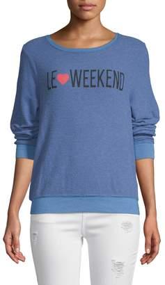 Wildfox Couture Women's Le Weekend Sweatshirt