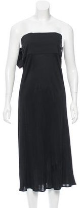 Jean Paul Gaultier Strapless Tie-Accented Dress $125 thestylecure.com