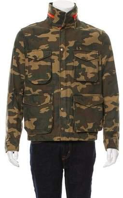 Ami Alexandre Mattiussi Camouflage Utility Jacket