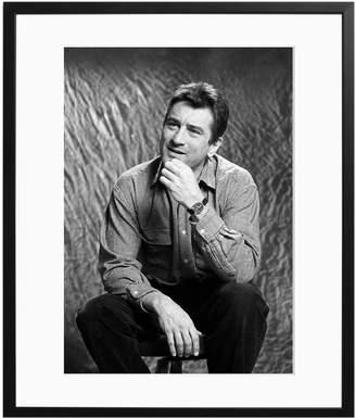 Sonic Editions Robert De Niro Posing by Waring Abbott (Framed)