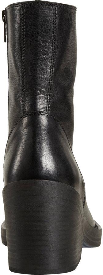 Ann Demeulemeester Chunky Heel Ankle Boot