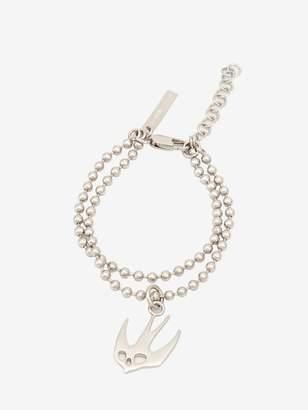McQ Ball Chain Swallow Bracelet