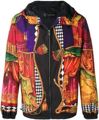 Versace graphic print jacket