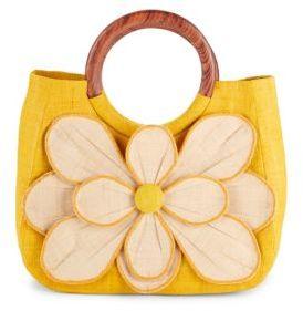 Guadeloupe Straw Handbag $150 thestylecure.com