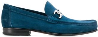 Salvatore Ferragamo suede loafers