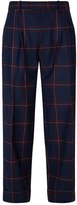 Paul Smith Wool Check Trousers